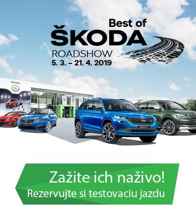 ŠKODA roadshow